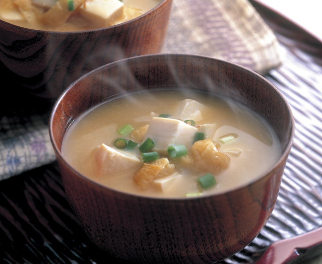 Miso Soup from fermented soybean