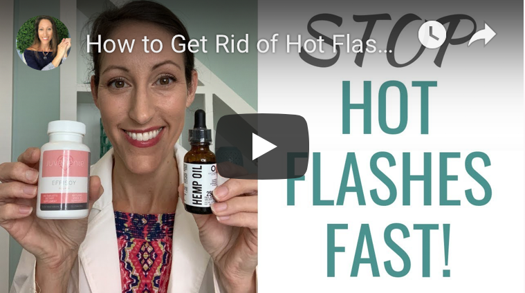 Hot Flashes and Night Sweats Naturally Relief Video explained by Dr.Melissa of Natural Health Resources