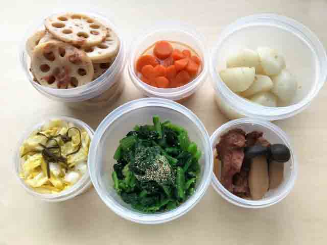 Small Packings of left foods