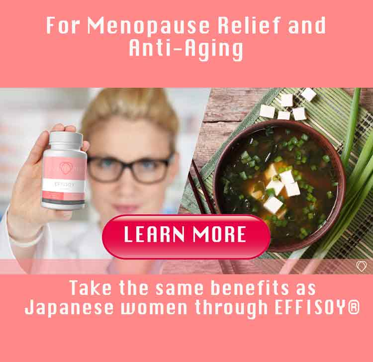 menopause relief and anti aging - Effisoy