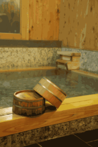 Hot Spring is a typical place to improve bad circulation for Japanese.